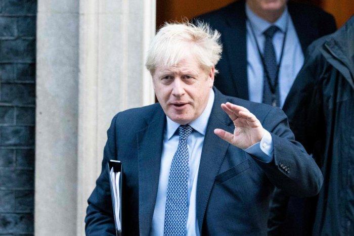 Britain's Prime Minister Boris Johnson. AFP Photo