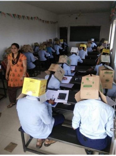 The carton idea has proved costly for Haveri college.