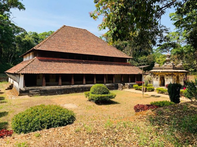 Nalknad Palace. DH Photo