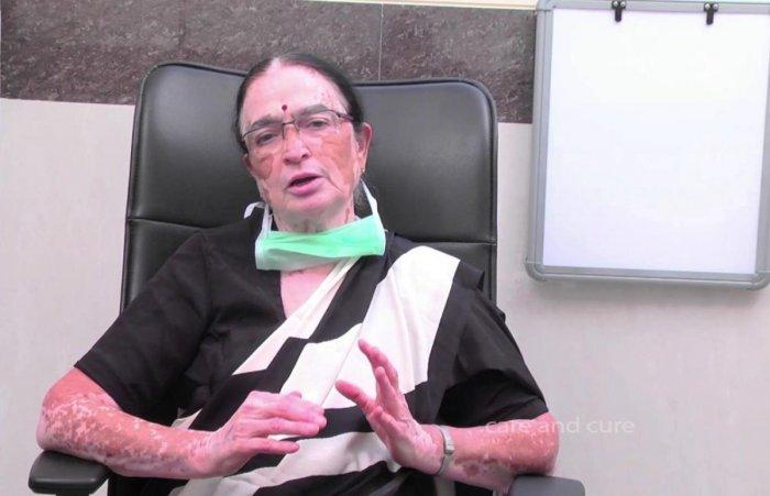 Dr P Balamba of the Prajwala rehabilitation centre.