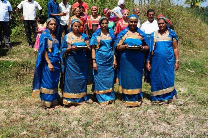 Women at 'Edamyar Ond' celebrations in Kodagu.