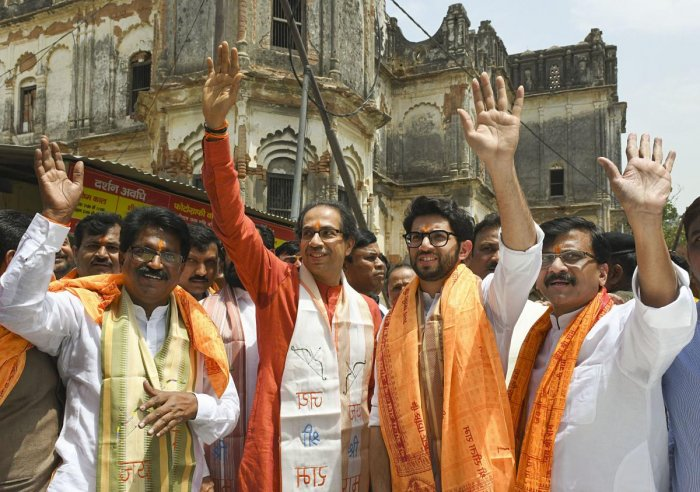 """In a column in Shiv Sena mouthpiece 'Saamana', party's Rajya Sabha member Sanjay Raut also claimed that the poll plunge of Sena chief Uddhav Thackeray's son Aaditya Thackeray will change the state's """"political dynamics"""" in coming years. PTI"""