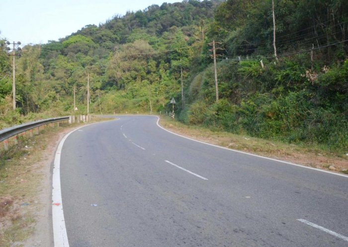 National Highway 275 which passes through Madikeri-Kushalanagar in Kodagu.