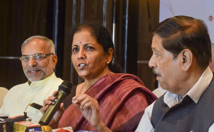 """She said industry leaders who are contemplating getting their businesses out of China are """"definitely considering India as the pitch"""". PTI file photo"""