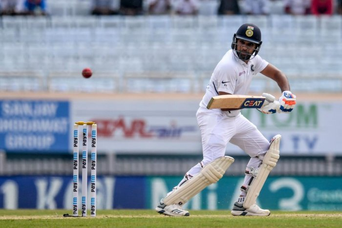 Rohit Sharma said he was looking forward to challenges in conditions abroad. AFP