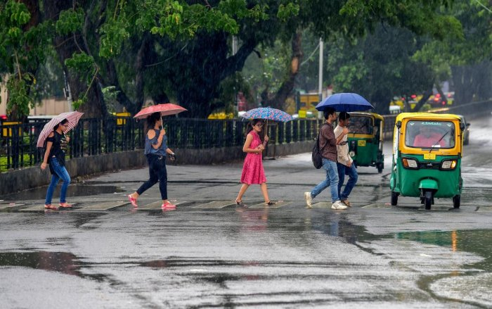 Due to formation of depression over north-west of Bay of Bengal leading to rains in coastal Karnataka and Malnad region.