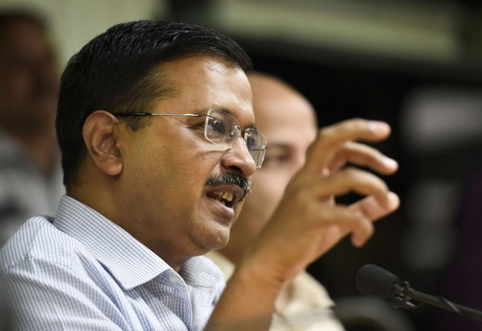 Delhi Chief Minister Arvind Kejriwal. PTI Photo