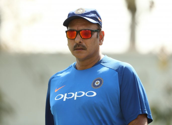 Shastri lauded the mindset of the team, which he said, is never perturbed by the conditions it encounters whether at home or abroad. Photo/Getty