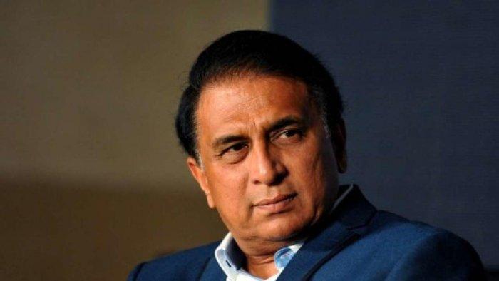 Sunil Gavaskar. DH file photo