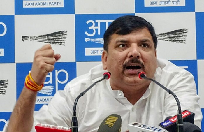 Senior AAP leader and Rajya Sabha MP Sanjay Singh questioned whether there is any agreement between the BJP leaders and power companies. PTI