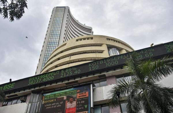 Bombay Stock Exchange in Mumbai. (PTI photo)