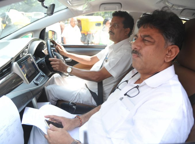 Shivakumar was arrested by the ED on September 3 in the money laundering case. He is lodged in Tihar jail under judicial custody. DH file photo