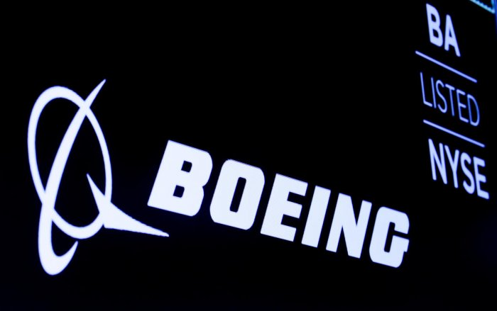 The Boeing logo (Reuters Photo)