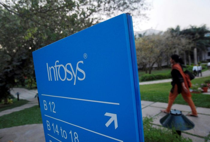 Infosys campus at the Electronics City IT district in Bangalore, February 28, 2012. (Photo by Reuters)