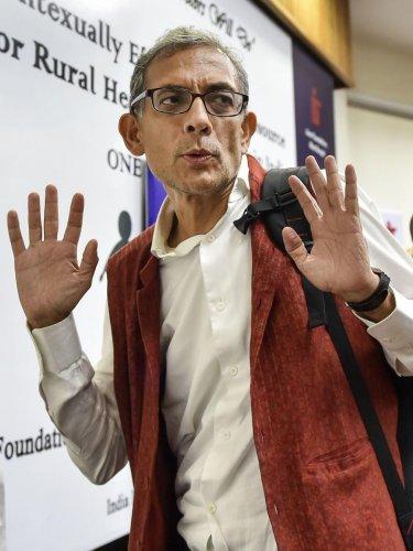 Economics Nobel Prize winner Abhijit Banerjee (PTI Photo)