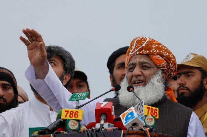Fazl-ur Rehman, President of the Jamiat Ulema-e-Islam (JUI-F). (REUTERS File Photo)