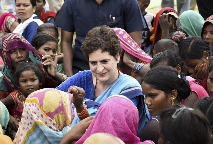 Priyanka Gandhi (PTI File Photo)