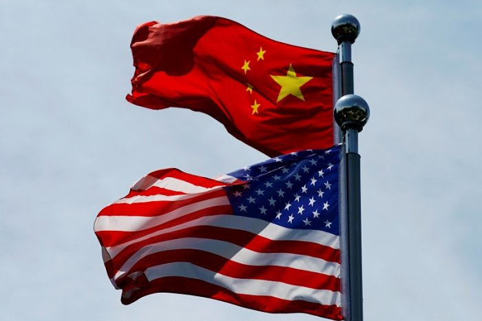 US and China flag. (Reuters Photo)