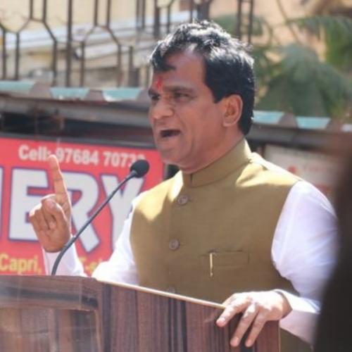 Union minister Raosaheb Patil Danve. Twitter photo