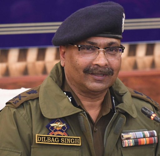Jammu and Kashmir director general of police Dilbagh Singh