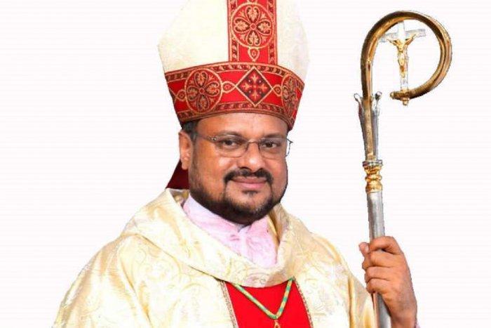 Kerala Bishop Franco Mulakkal.