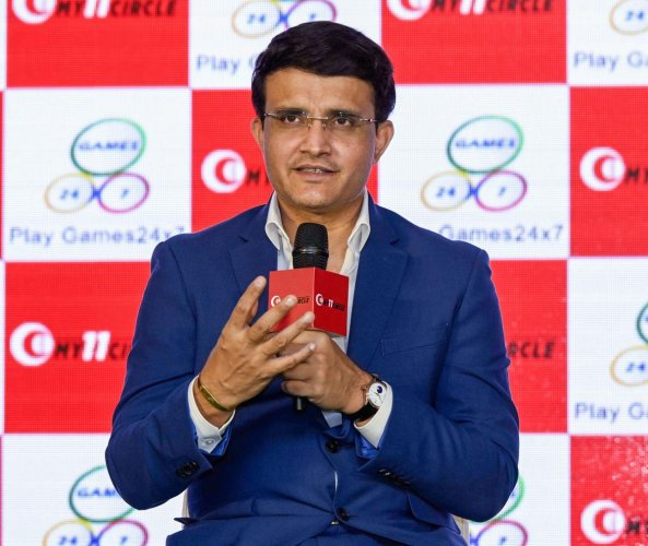 Sourav Ganguly. PTI file photo