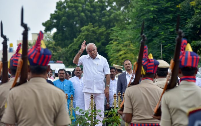 Karnataka Chief Minister B S Yediyurappa. (DH Photo)
