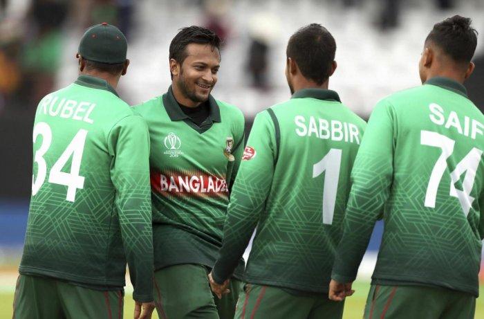 Bangladesh cricketers (AP/PTI Photo)