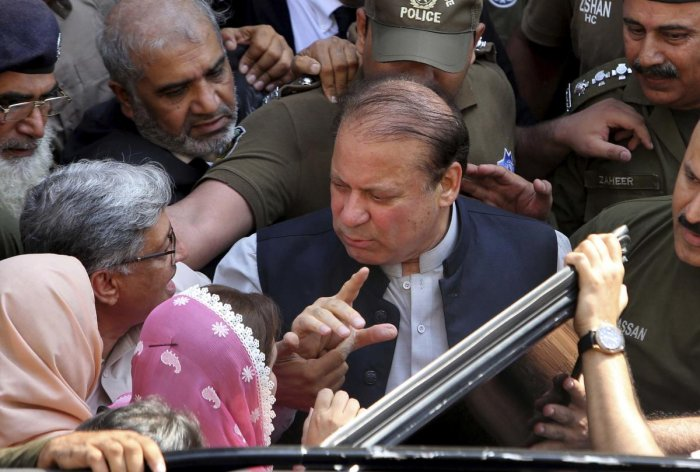 Pakistani former Prime Minister Nawaz Sharif (AP/PTI Photo)