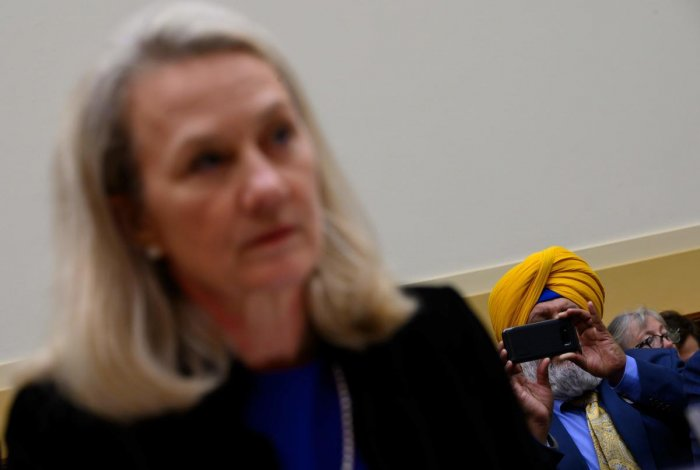 US acting Assistant Secretary of State for South and Central Asian Affairs, Alice Wells (AFP Photo)