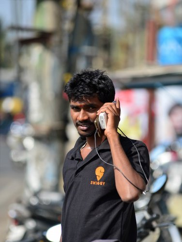 Swiggy delivery boy. (Photo for representation.