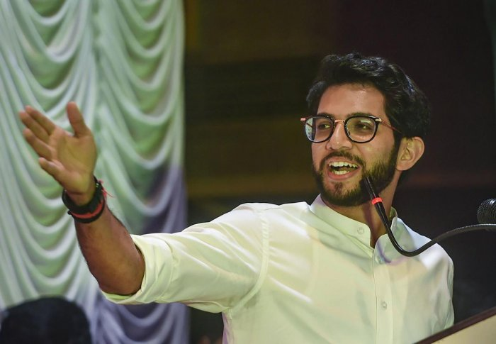 Aaditya Thackeray. PTI Photo