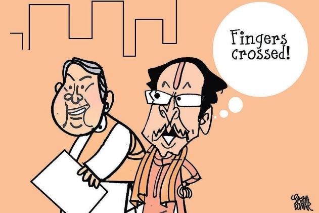Maharashtra polls: BJP-Sena positive about clean sweep