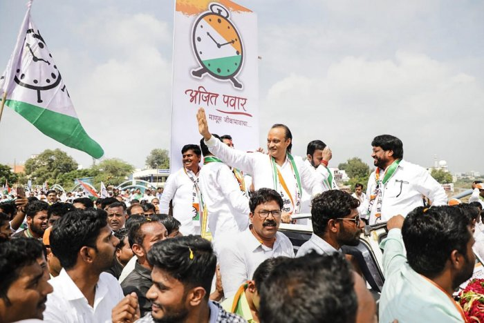 Ajit Pawar, nephew of NCP president Sharad Pawar, polled 1,95,641 votes, while his nearest rival, Padalkar, bagged just 30,376 votes. (PTI File Photo)