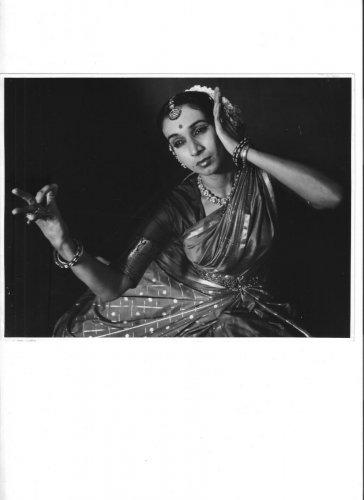 Dancer Mrinalini Sarabhai