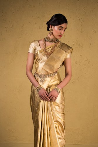 A sari from The House of Angadi