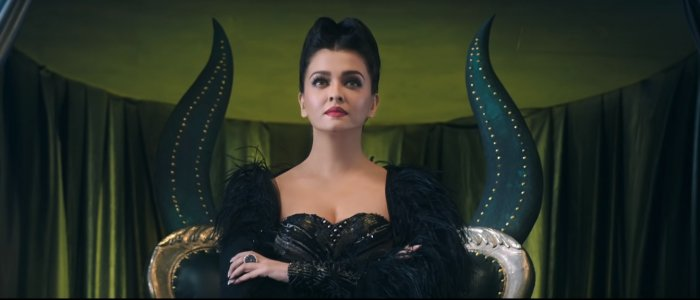 Aishwarya Rai in her avatar as Maleficent in the Hindi trailer of 'Malefient: the mistress of evil'.