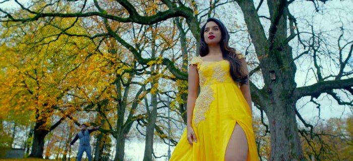 'Marethuhoyithe' is from the movie 'Amar' starring Abhishek Gowda and Tanya Hope.