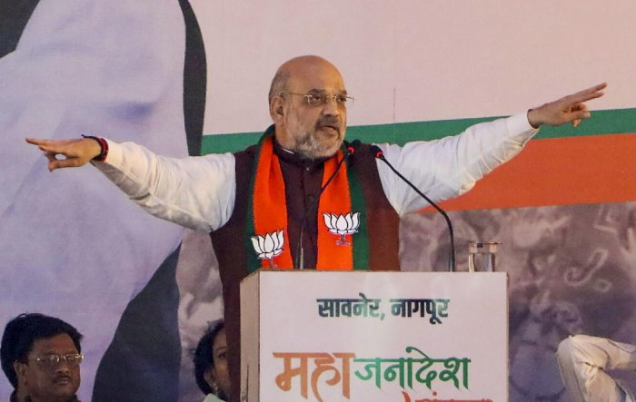 Union Home Minister and BJP leader Amit Shah. PTI Photo