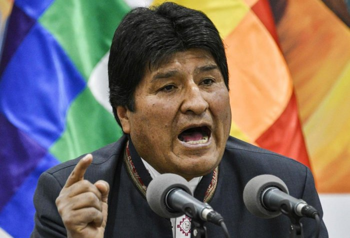 Bolivian President Evo Morales (AFP Photo)