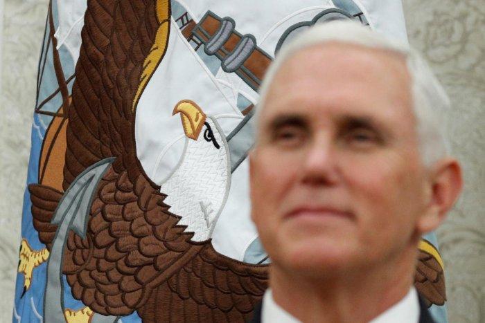"Pence on Thursday accused China of curtailing ""rights and liberties"" in Hong Kong and blasted US company Nike and the National Basketball Association for falling in line with Beijing in a disagreement over free speech. Reuters"