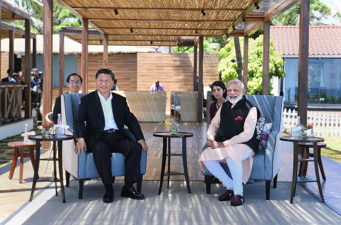 The Chinese leader had arrived here for his second informal meet with Modi on October 11 and 12, where they discussed a wide range of bilateral issues at the nearby coastal town of Mamallapuram. PTI file photo