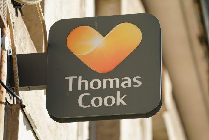 British travel group Thomas Cook. (AFP Photo)
