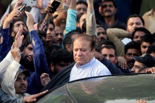 Former Prime Minister Nawaz Sharif. (Reuters photo)