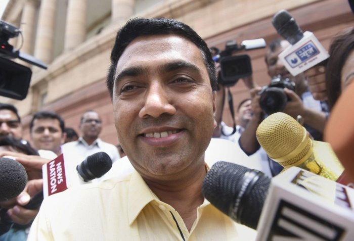 Goa Chief Minister Pramod Sawant (PTI Photo)