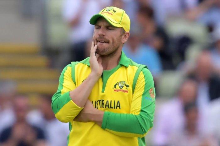 Australia's captain Aaron Finch (Photo AFP)