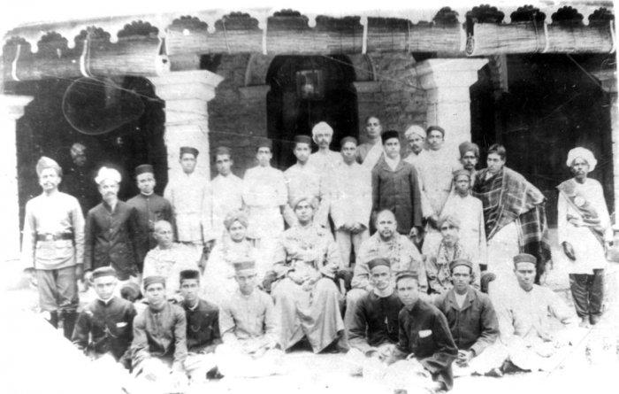 Swami Vivekananda at the anathalaya in Mysuru.
