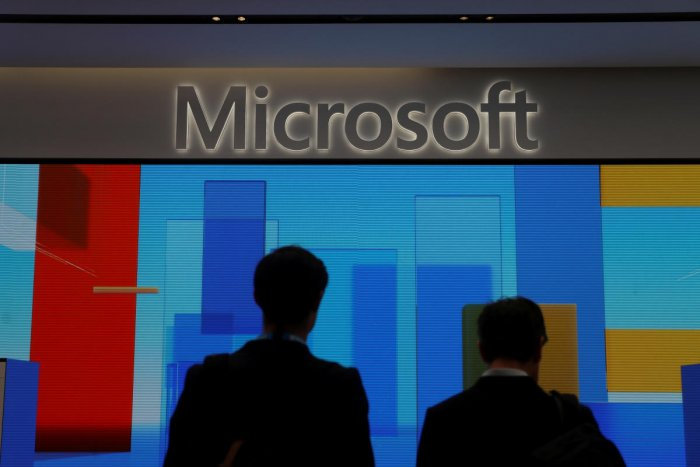 Microsoft Logo (REUTERS Photo)
