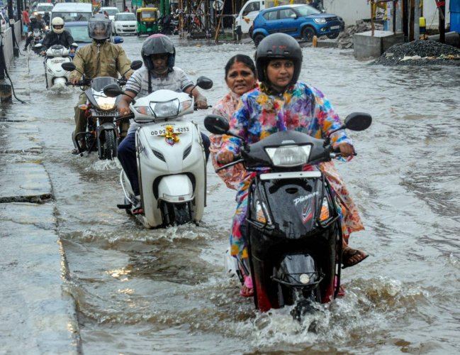 The state has been battered by heavy rains since October 23 under the impact of a low-pressure area over the Bay of Bengal. PTI