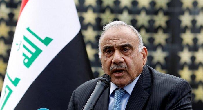 Iraqi Prime Minister Adel Abdul Mahdi. (Reuters Photo)